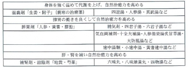伊藤康雄氏(杏林ワコー薬局)の分類